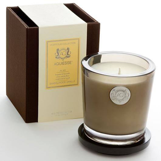 Picture of SANDALWOOD VANILLE candle large brown