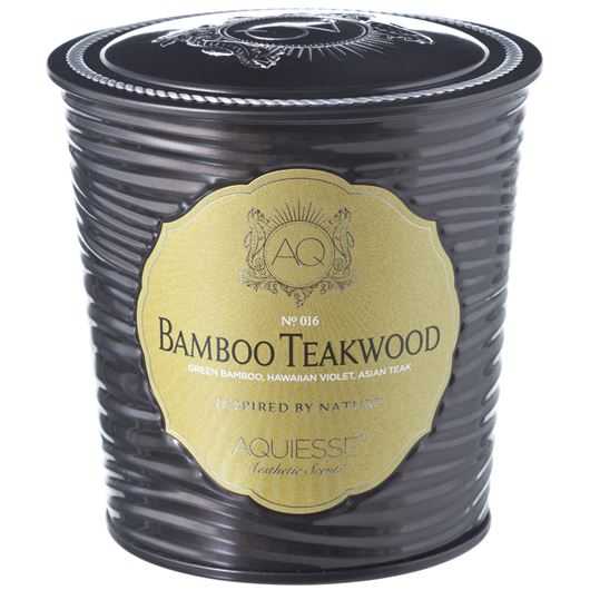 BAMBOO TEAKWOOD candle brown