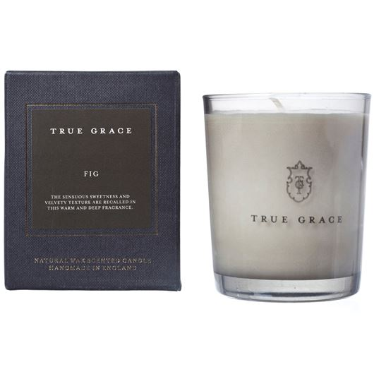 FIG candle small black