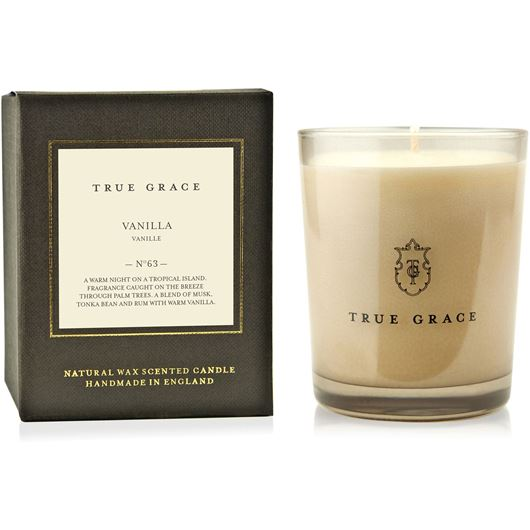 Picture of VANILLA candle small brown