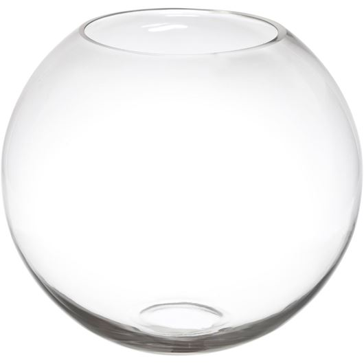 Picture of TREVISO vase h26cm clear