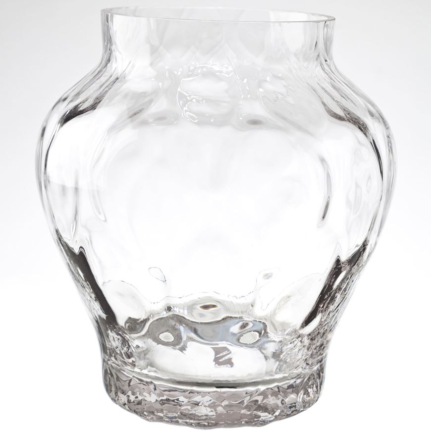 Picture of TREA vase h25cm clear