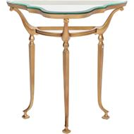 CACEY moon console 75x38 gold/clear