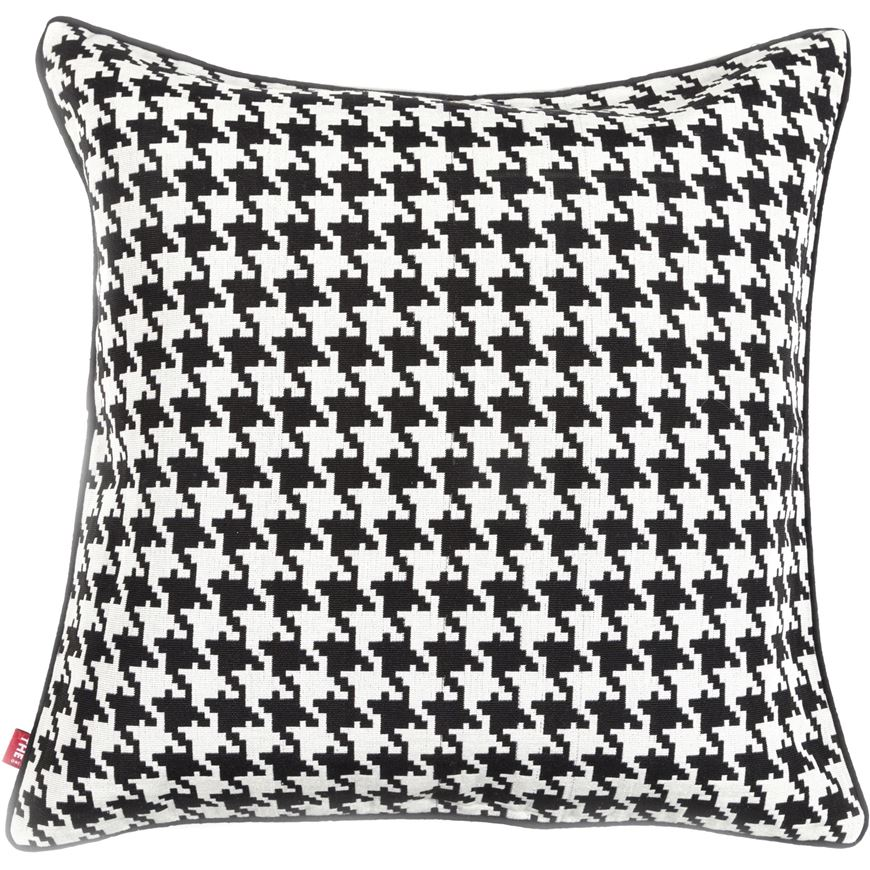 Picture of KALIS cushion cover 50x50 black/white