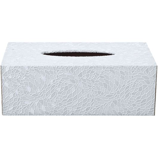 Picture of AZRA tissue box 14x25 white