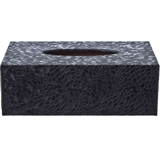Picture of DURU tissue box 14x25 black