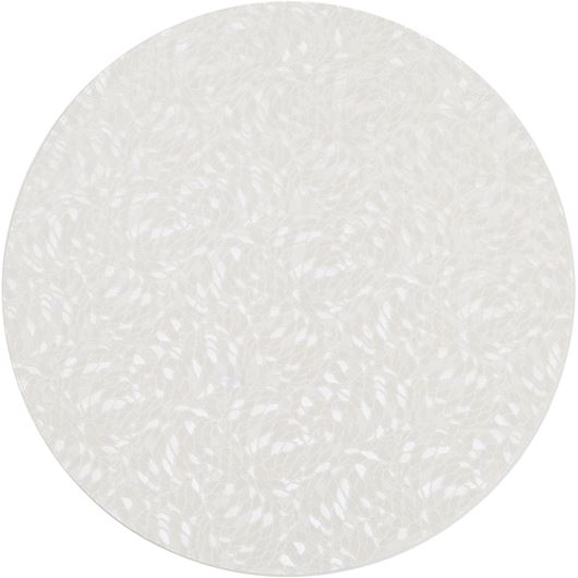 Picture of AZRA place mat d40cm white