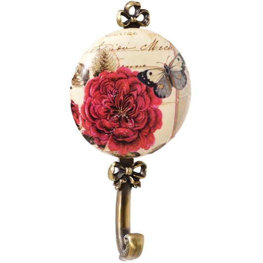Picture of BLOOM hook red/gold