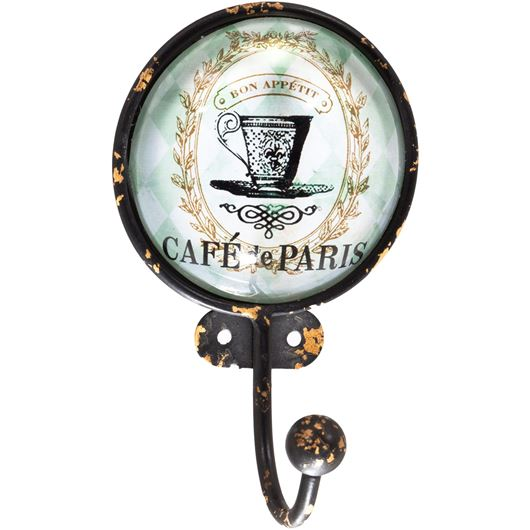 Picture of CAFE de PARIS hook white