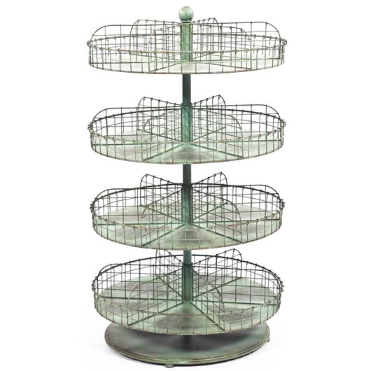 Picture of ANTO display stand h110cm blue