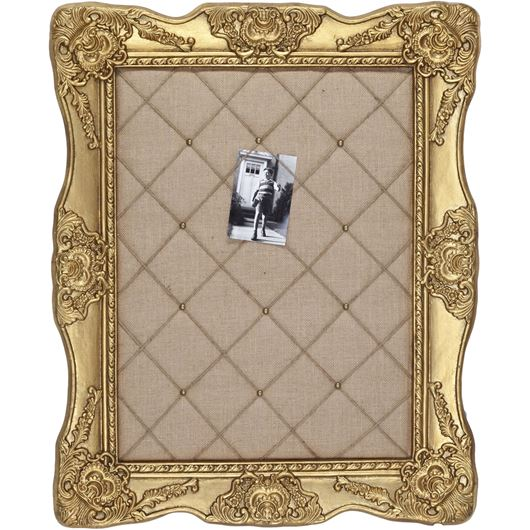 Picture of KAYDEN notice board 72x89 gold