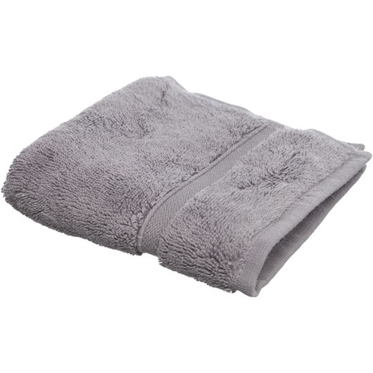 Picture of ANTALYA face towel 30x30 dark grey