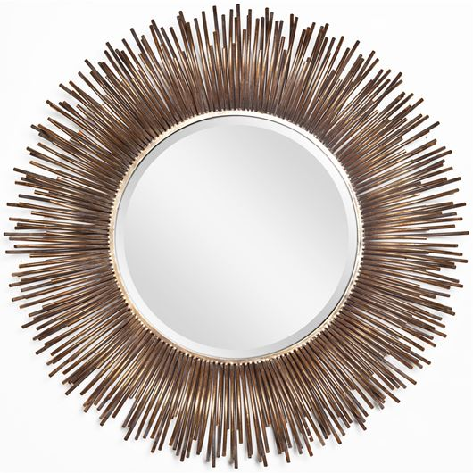 Picture of KAYLA mirror d100cm gold