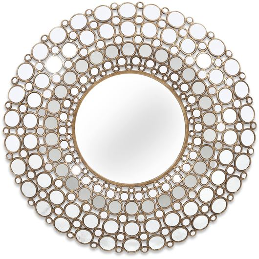 Picture of LEROY mirror d103cm gold