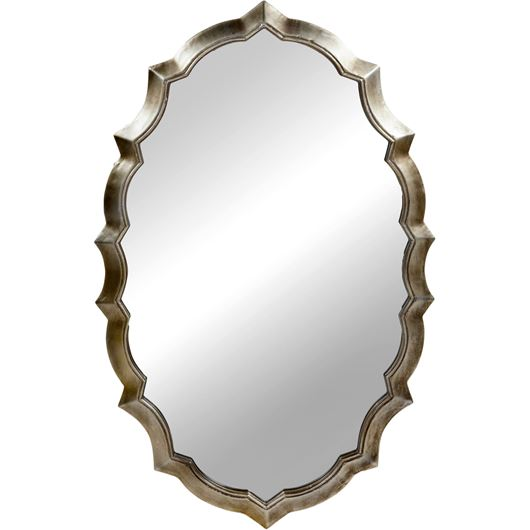 Picture of DECLAN mirror 125x80 gold