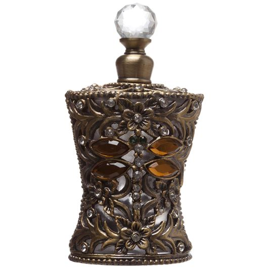 Picture of JEWEL perfume bottle h11cm gold