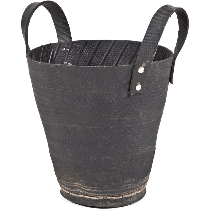 Picture of TIRO planter with handle h30cm black