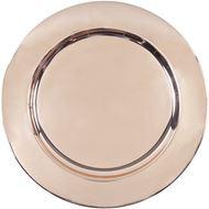 ALANI charger plate d33cm copper