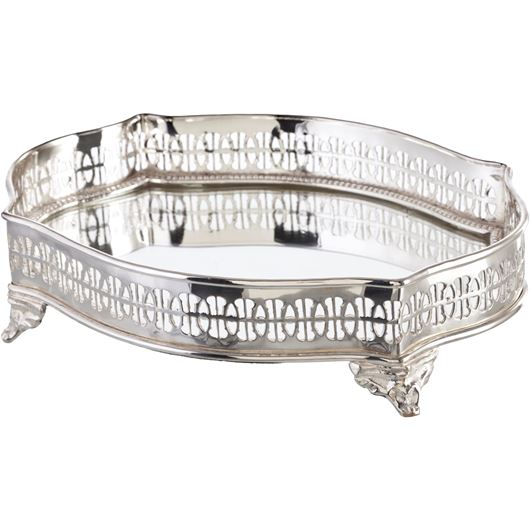 Picture of HARMON tray 22x16 silver