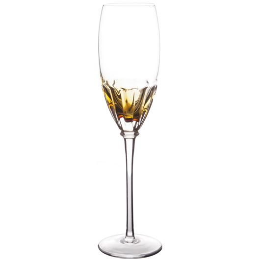 Picture of ENLAI champagne glass h26cm orange