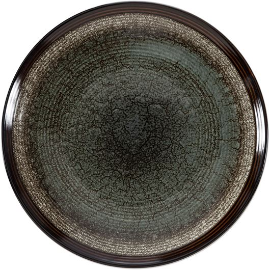 Picture of GIANNA dinner plate d27cm black