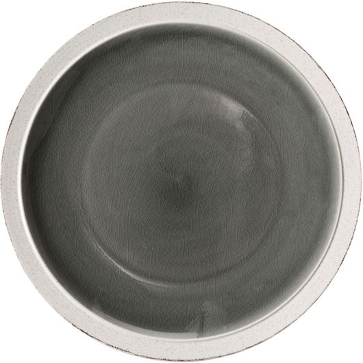 Picture of JIAN dinner plate d28cm grey