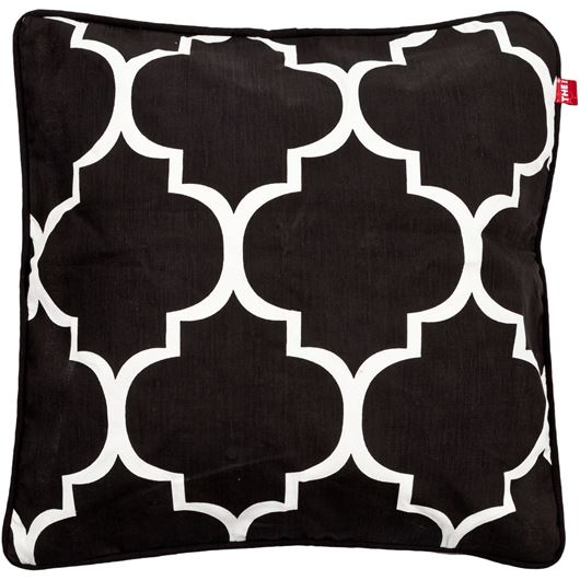 AAHNA cushion cover 45x45 black