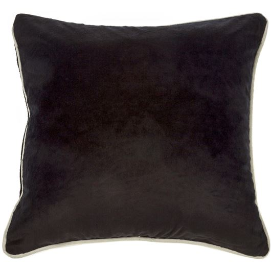 Picture of KERA cushion cover 50x50 black