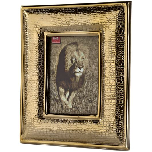 Picture of CROCO photo frame 13x17 gold