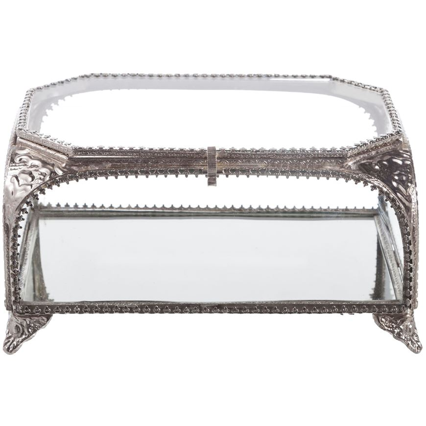 Picture of DARSH box 20x13 nickel/clear
