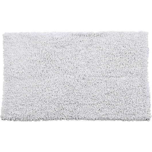 BAMBOO bath rug 120x180 white