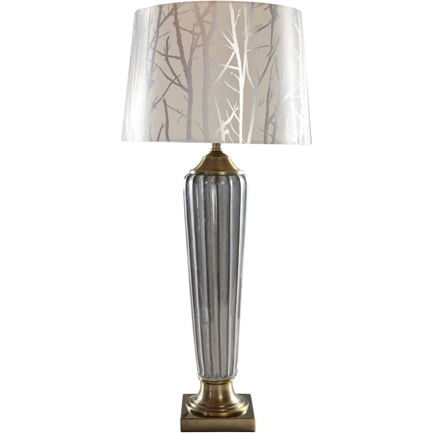 Picture of MARIN table lamp h85cm cream/grey