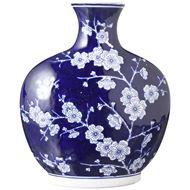 Picture of AYA vase h31cm blue/white
