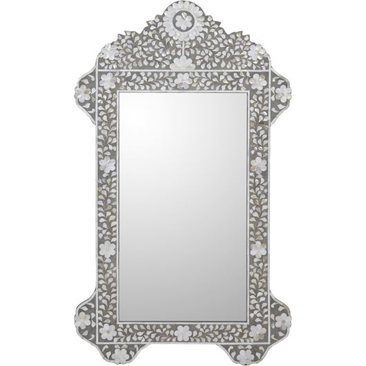 Picture of CASABLANCA mirror 120x70 grey