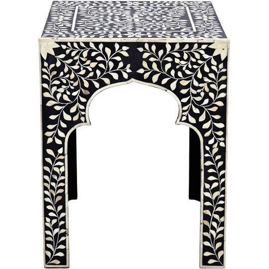 ALHAMBRA side table 45x45 black