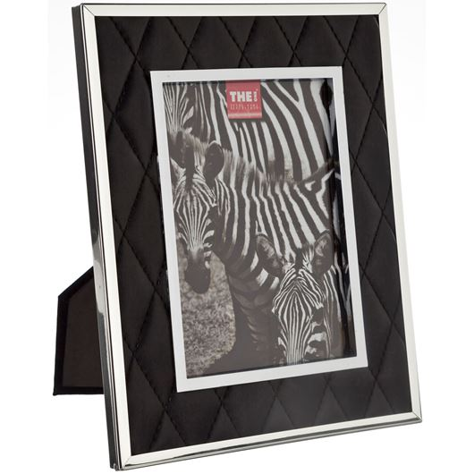 Picture of LEATHER photo frame 13x18 black