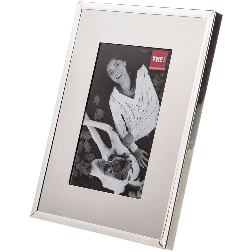 ELEGANCE photo frame 10x15 silver | THE One. THE One: Where Price ...