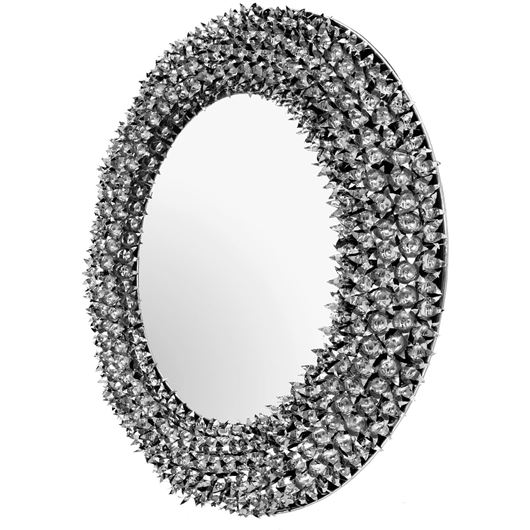 Picture of BELLA DONNA mirror d120cm nickel