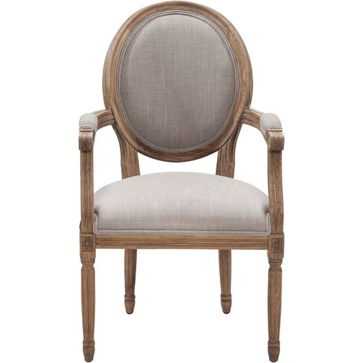 PARDON dining armchair beige/taupe