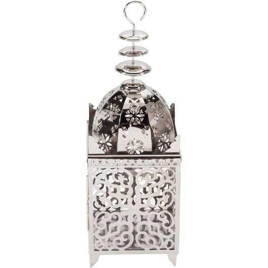 Picture of CASABLANCA lantern h64cm nickel