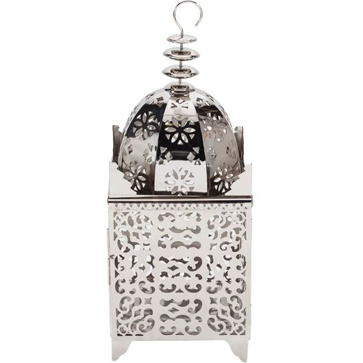 Picture of CASABLANCA lantern h89cm nickel