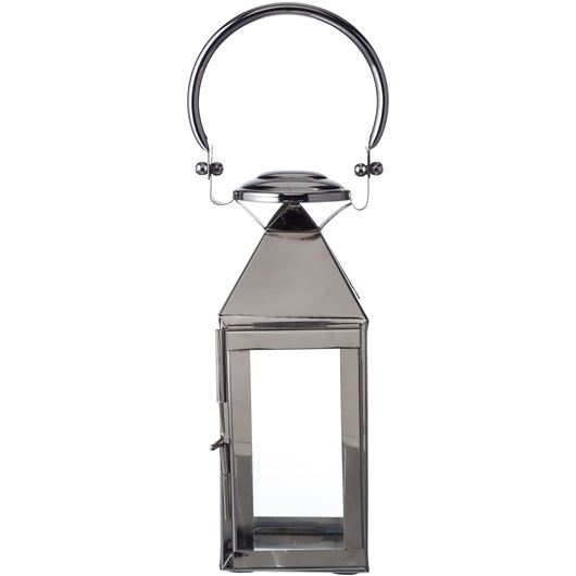 Picture of JAYDEN lantern h28cm nickel