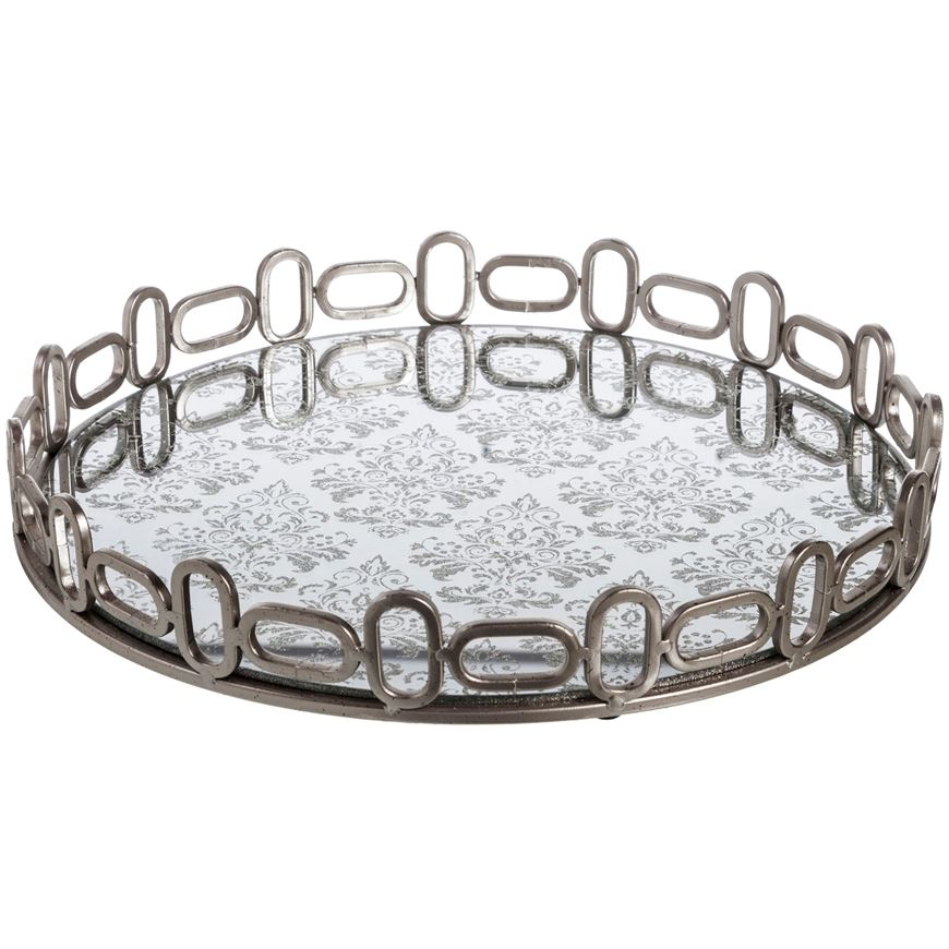 Picture of ELLIE tray d41cm silver