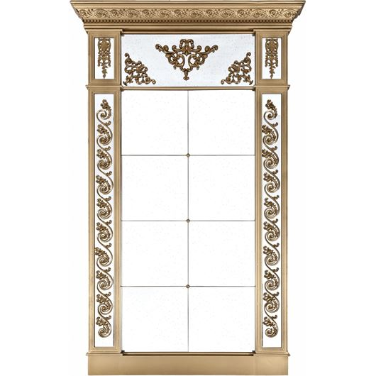 Picture of ALEXA mirror 229x142 clear/gold