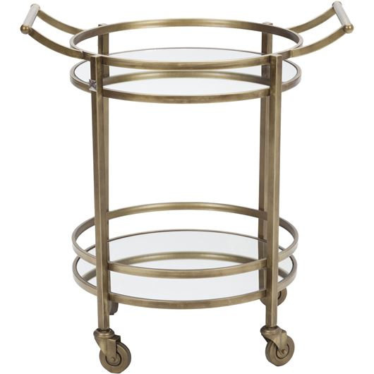 Picture of MALACA trolley 53x70 brass/black