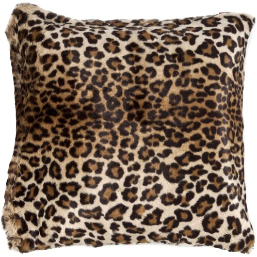 Picture of YONG cushion cover 45x45 brown/cream