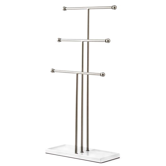 Picture of TRIGEM jewellery stand nickel/white