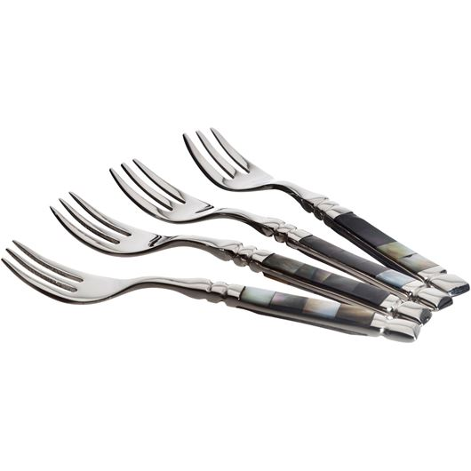 Picture of PEARL fork set of 4 ivory