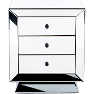 QUANG bedside table clear