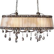 Picture of DORIS chandelier 92x54 beige